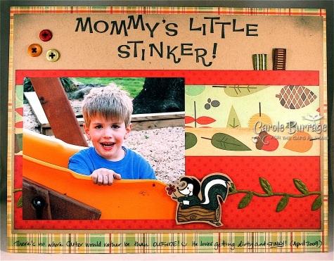 Scrapbook Stinker