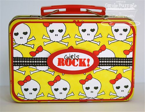 Poppies Lunchbox - back