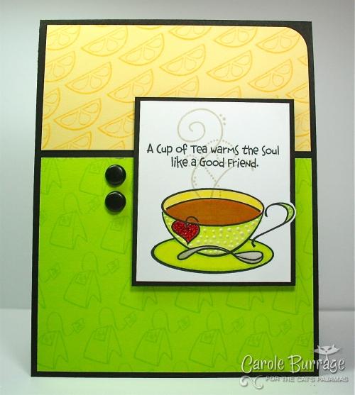 Green Tea w: Lemon