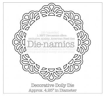 DieNamicsDecorativeDoily