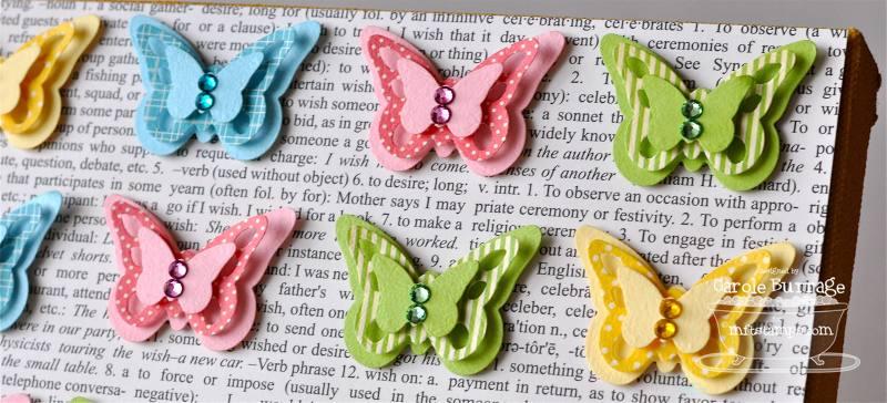 CB Butterfly Art detail