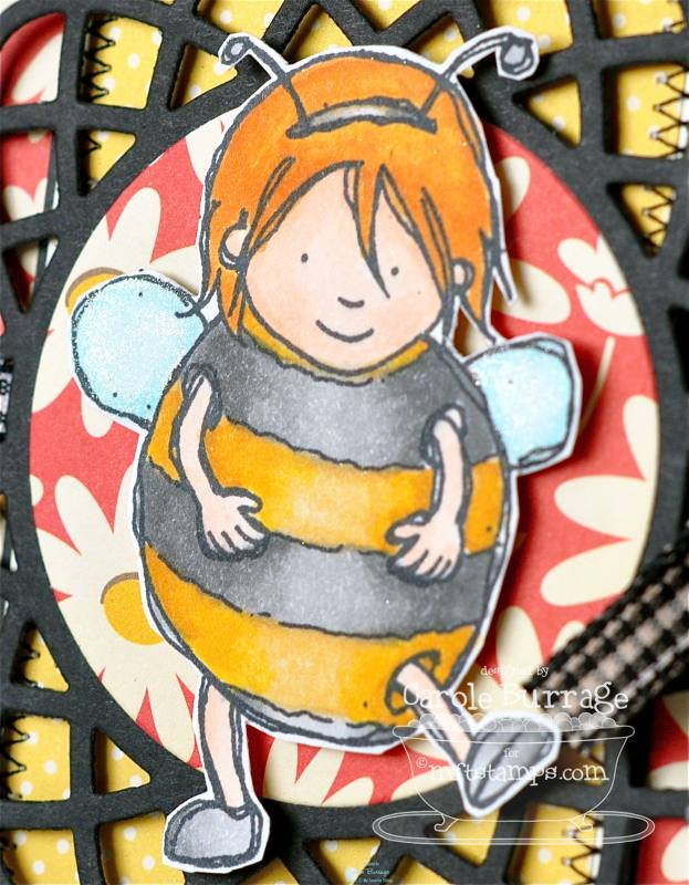 CB Bee Yourself detail
