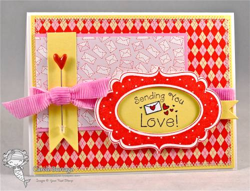 CB Fancy Frame Valentine