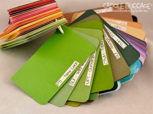 Swatchbook greens