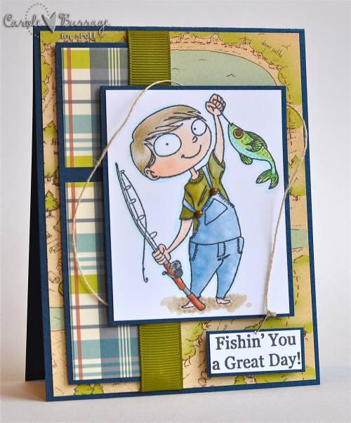 Carter's 8th Bday card