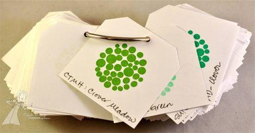 CB Ink Swatchbook green