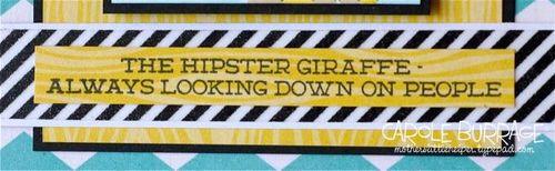 CB Hipster G sentiment