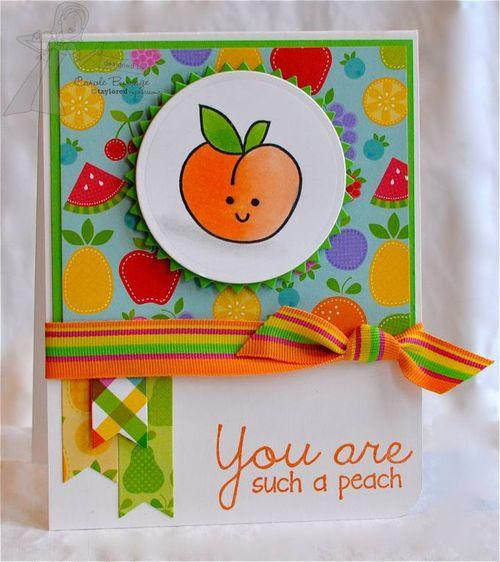 CB TE:DB Peach