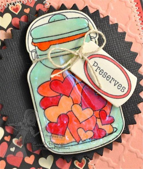 CB TE Jar of Hearts detail