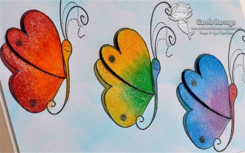 CB YNS Butterfly detail