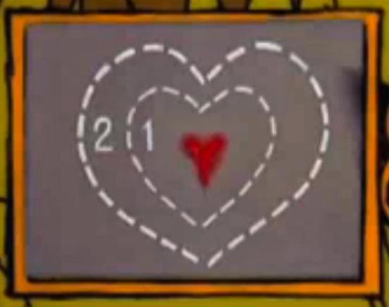Heart x 3