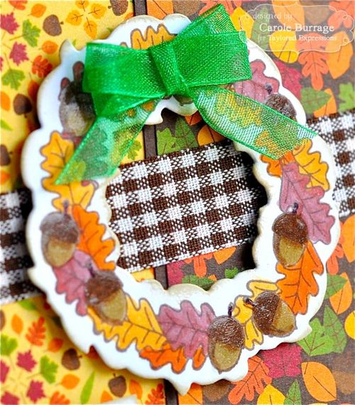 CB Autumn Wreath Detail