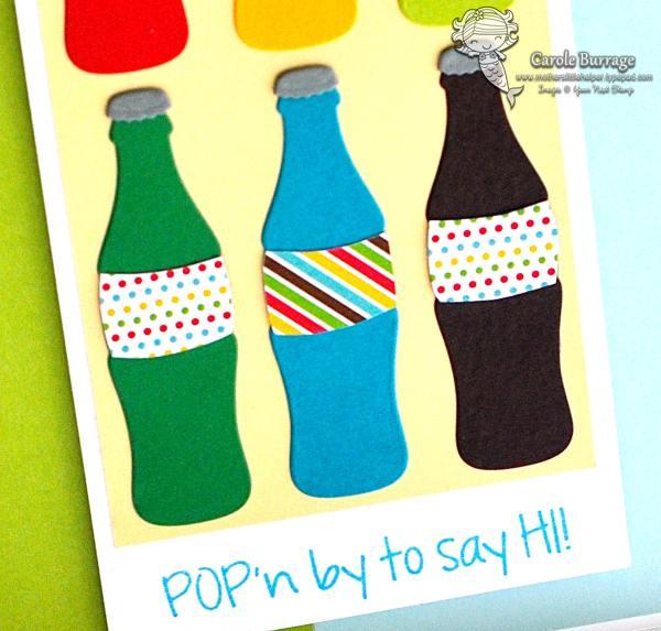 CB YNS Pop Bottles Close Up