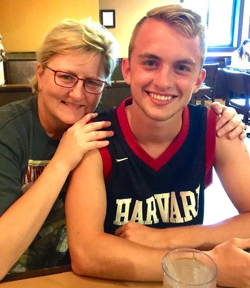 Mom and Truman
