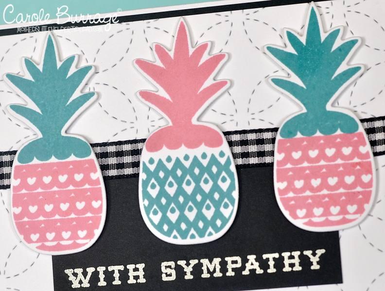 CB LID Sympathetic Pineapples closeup