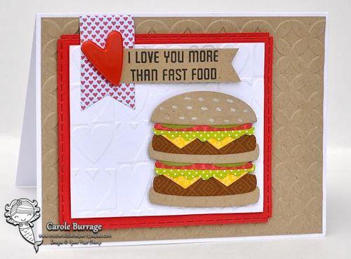 CB YNS Hamburger Valentine