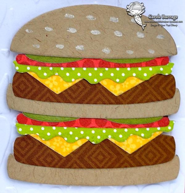 CB YNS Hamburger Valentine Closeup