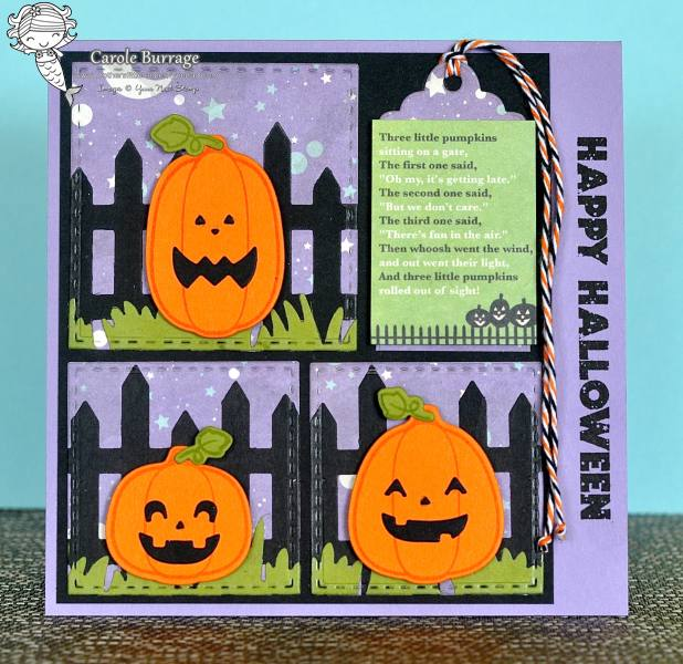 CB YNS 3 Little Pumpkins