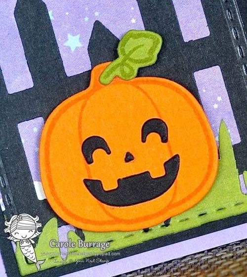 CB YNS 3 Little Pumpkins closeup