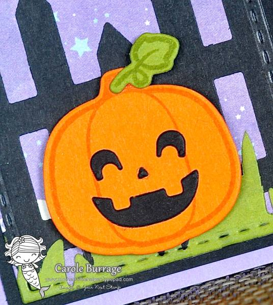 CB YNS 3 Little Pumpkins closeup