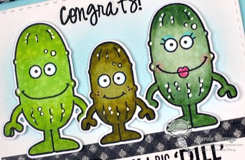 CB YNS Pickle Family closeup