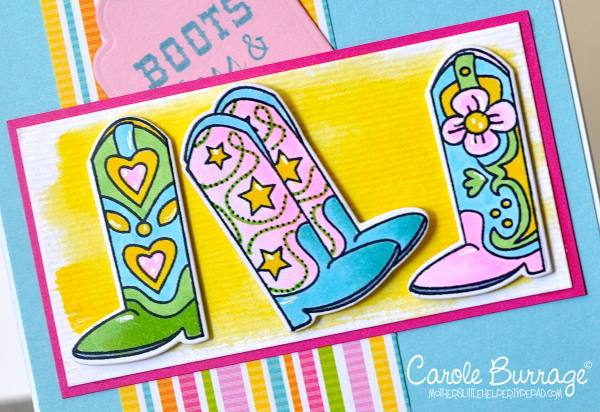 CB TE Cowgirl Boots closeup