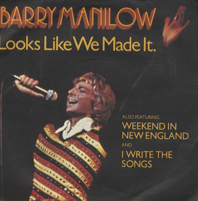 Barry+Manilow+-+Looks+Like+We+Made+It+-+7-+RECORD-116590