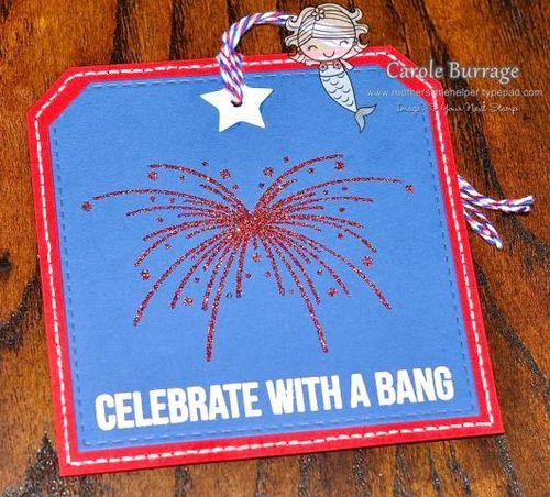 CB Fireworks Tag