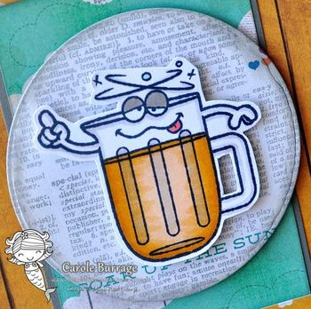 CB YNS Beer Day close up