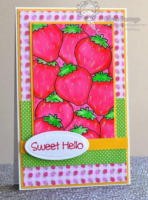 CB YNS Strawberry Letter